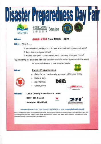Disaster Preparedness Day Flier 6-17-2014