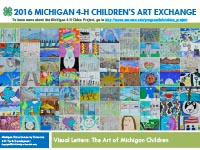 2016 Michigan 4-H Children's Art Exchange