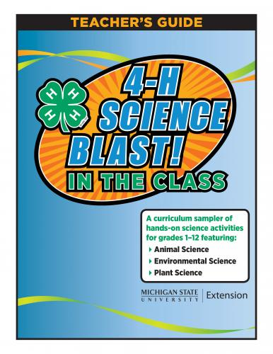 4-H Science Blast in the Class!