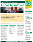 MI 4-H Meat Science Project Snapshot