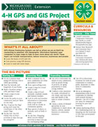 MI 4-H GPS and GIS Project Snapshot