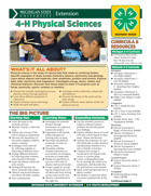 MI 4-H Physical Science Project Snapshot