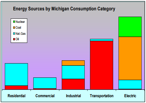 Woody Biomass for Energy in Michigan: Energy Use in Michigan