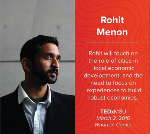 Rohit Menon, SPDC master's student in Environmental Design
