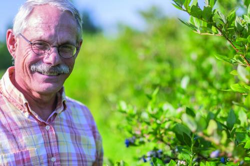 James Hancock, MSU blueberry breeder