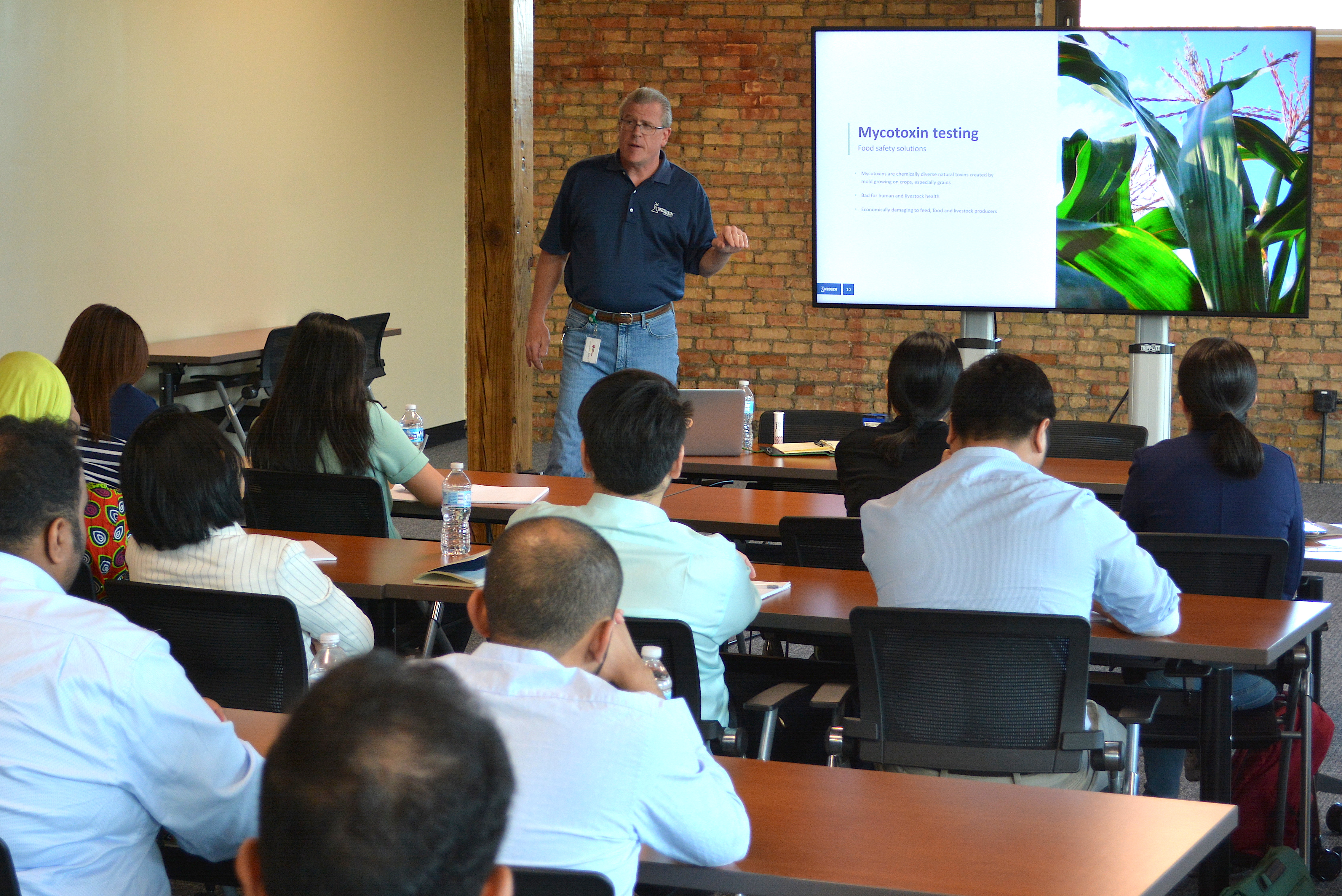 International Short Course in Food Safety visits Neogen Corporation.