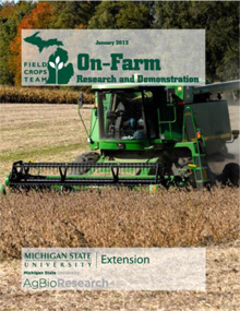 2012 On-farm Research and Demonstration
