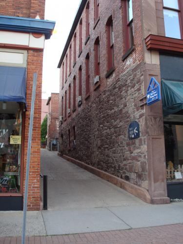 Alley in Marquette