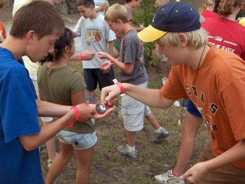 Students build teamwork skills at camp
