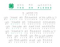 4-H Pledge in ASL
