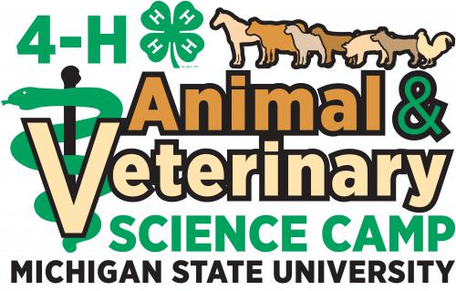 4-H Animal and Vet Science Camp logo