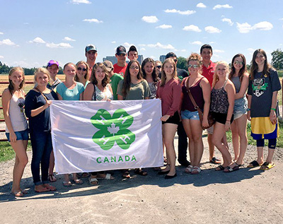 4-H Canada youth