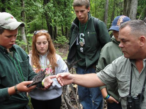 4-H Great Lakes and Natural Resources Camp increases science literacy and outdoor activity among Michigan young people.