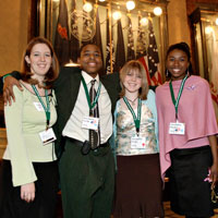 4-H'ers at the Capital