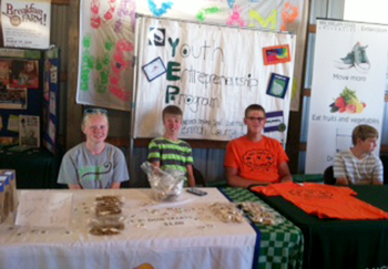 4-H entrepreneurship project