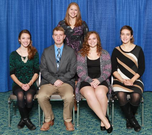 Michigan 4-H livestock judging team
