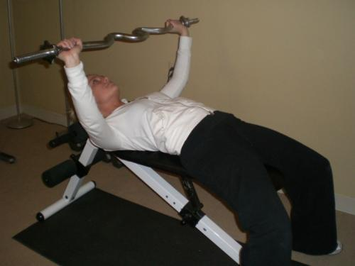 Horseback riding, upper body strength exercise