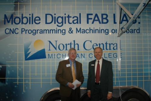 The CNC Mobile Lab provides state of the art training right at your doorstep.