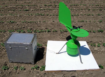 Downy midlew spore trap