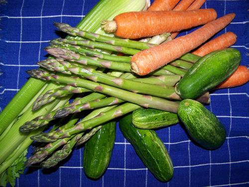 Michigan Vegetables, Carrots, Asparagus, Celery, pickles, cucumbers, pickling cucumbers