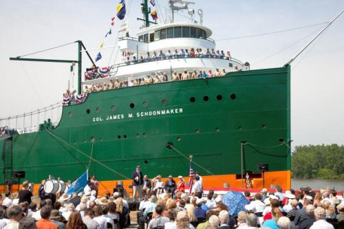 Photo of Great Lakes ship Schoonmaker