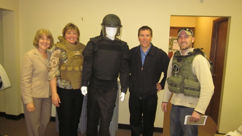 A first-hand look at Armor Express body armor