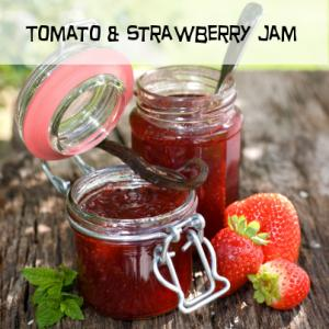 TOMATO AND STRAWBERRY JAM