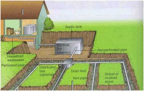 Managing waste household septic systems part 1 msu for What size septic tank for a 3 bedroom house
