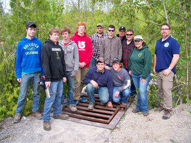 Alpena High School 4-H welding club image