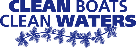 Clean Boats, Clean Waters logo.