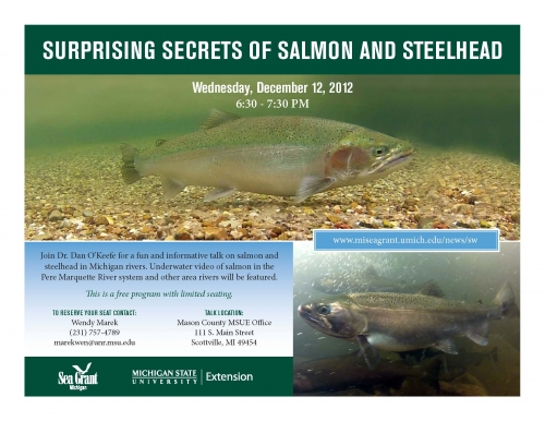 Salmon and Steelhead program announcement image.