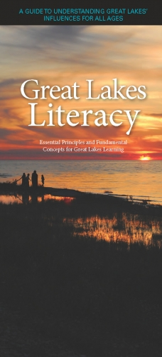 Great Lakes Literacy brochure cover