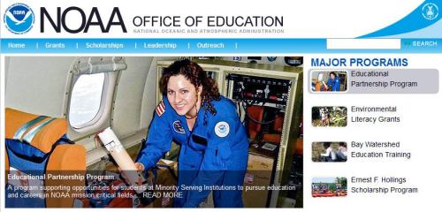 Banner image from NOAA Office of Education.
