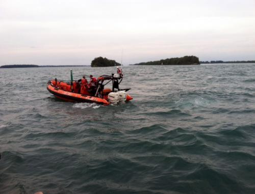 Rescue on Lake Erie