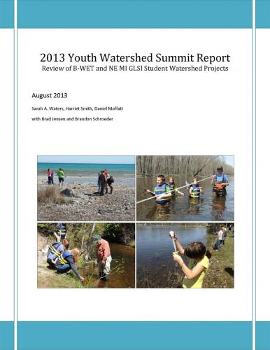 Youth Watershed Summit report cover image.