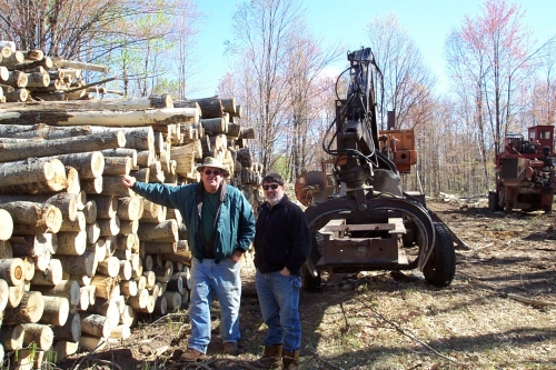 MSU Extension programming helps guide Clare County resident Howard Doss conduct a timber sale on his property