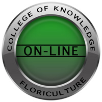 College of Knowledge Floriculture Online logo.