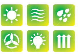 Symbols for energy conservation.