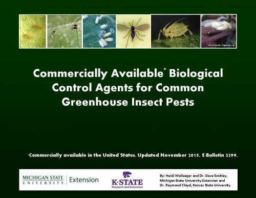 Biological control bulletin cover