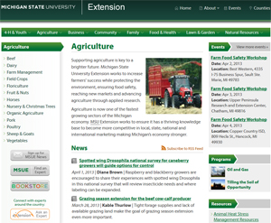 MSU Extension website