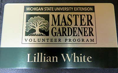 Master Gardener Gold Badge