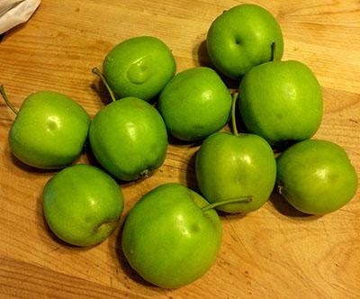 midseason apple damage