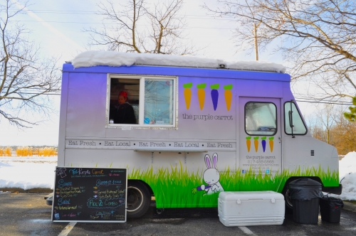 Purple Carrot truck