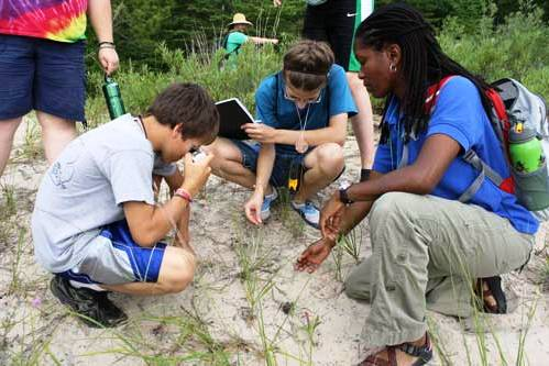 GLNR campers document a threatened plant