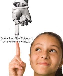 One Million New Scientists. One Million New Ideas. (TM)