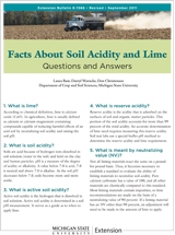 Facts about Soil Acidity and Lime (E1566)