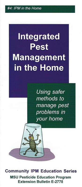 Integrated Pest Management in the Home (E2778)