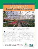 Greenhouse Energy Conservation Strategies (E3160)