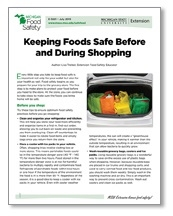 Keeping Foods Safe Before and During Shopping (E3261)
