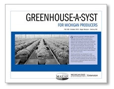 Greenhouse *A* System for Michigan Producers (FAS108)